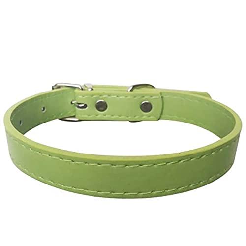 JimAndAlice Collares de Perro Collar de Gato Bufanda de CachorroAjustable Adecuado para Mascotas Medianas y pequeñas Azul sólido Teddy Red Chihuahua