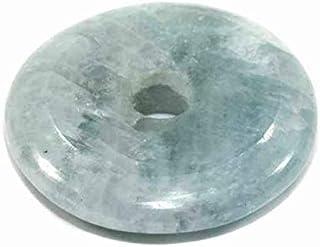 1001Kristall 25 mm ciambella in acquamarina