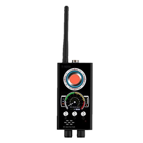 WFBD-CN Detector de radares Detector de señal RF GPS Tracker Cámara Detectores de escáner de Bug Finder Lens gsm Dispositivo Buscador Monitor (Negro)