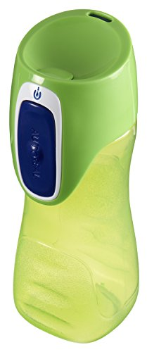 Contigo 2001147 Autoseal Trekker Kids Water Bottle, 2-Pack, Granny Smith & Nautical