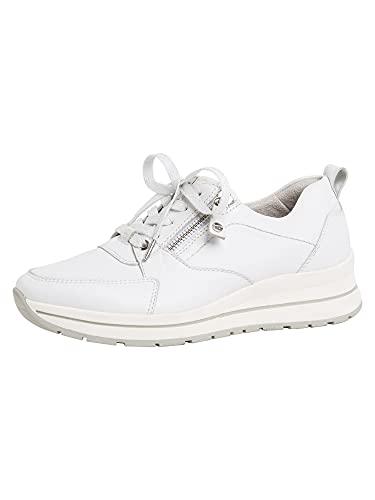 Tamaris PureRelax Damen Sneaker 1-1-23740-26 146 weiß weit Größe: 38 EU