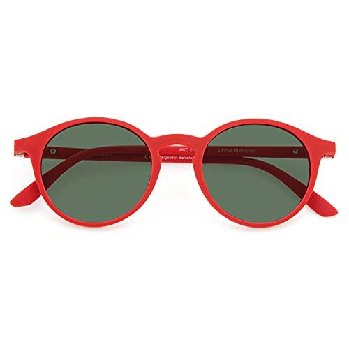 DIDINSKY Gafas de Sol Polarizadas para Hombre y Mujer. Tacto Goma, Lentes Antireflejantes con Protección UV y Visión Ultra Nítida. Ferrari - UFFIZISUN