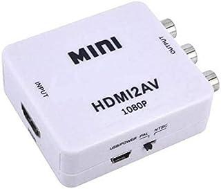 NK STAR Mini HDMI2AV UP Scaler 1080P HD Video Converter Media Streaming Device