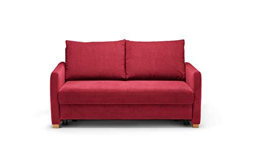 REPOSA Sofas, Stoff, Rot, 156 x 95 x 94 cm