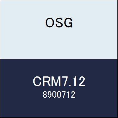 OSG 超硬ストレートリーマ CRM7.12 商品番号 8900712