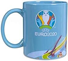 Euro 2020 Unisex's Mok, Turkoois, One Size