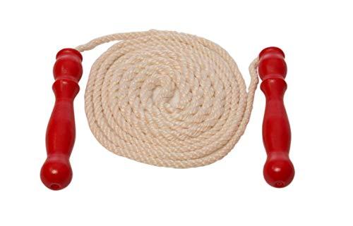 Glückskäfer 536081 Springseil mit rotem Griff