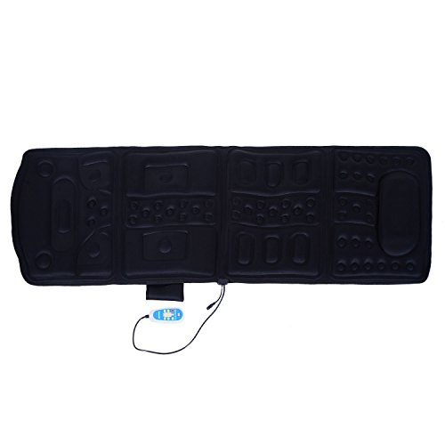 HOMCOM Massagematte Massageauflage Heizdecke Massage Matte mit Wärmefunktion Massagegerät