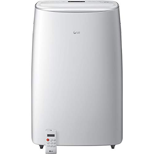 LG DUAL Inverter Smart Portable Air Conditioner, 10,000 BTU (DOE), Cools up to 450 Sq.Ft., Ultra Quiet Operation, Up to 40% More Energy Savings, works with LG ThinQ, Amazon Alexa & Hey Google, 115V