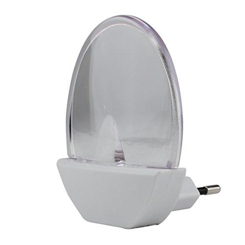 UNITEC Orientierungslicht LED oval weiߟ, Plastik, 0.09 W, 18 x 11.3 x 6 cm
