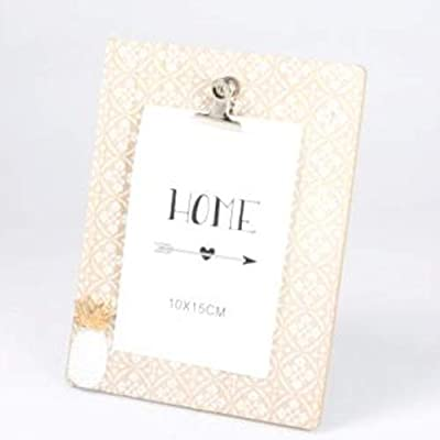 Jodhpury Wooden Notepad Style Photo Frame Simply Designed