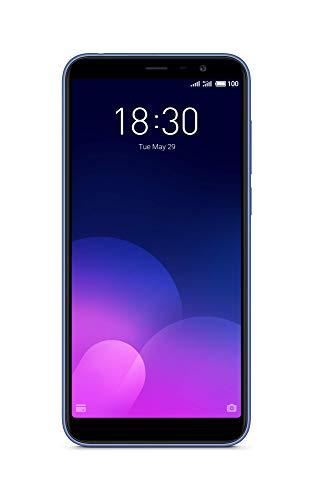 Meizu M6T - Smartphone (Pantalla IPS de 5,7 Pulgadas, 2 GB + 16 GB, Azul)