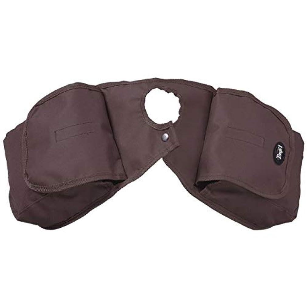 Tough-1 Dark Brown Nylon Denier Pommel/Horn Bag Horse Tack Equine