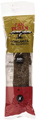 Can Duran – Longaniza Extra Pirineo con Pimienta – Embutido Tradicional   2 x 300 gr (600 gr)