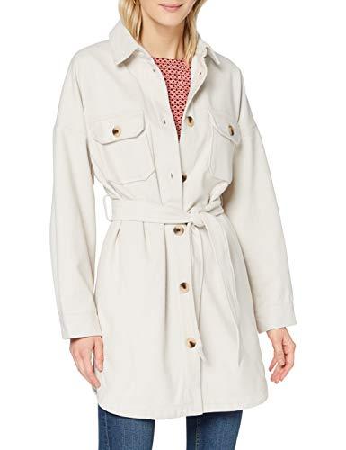PIECES Damen PCRIEMA Overshirt Jacket Jacke, Whitecap Gray, S