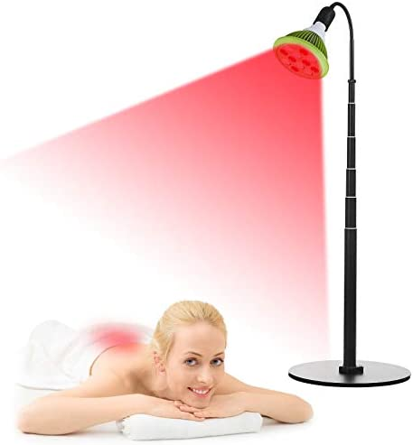 36W LED Red Light Therapy 27 75 Height Adjustment Red 660nm and Near Infrared 850nm for Desktop product image