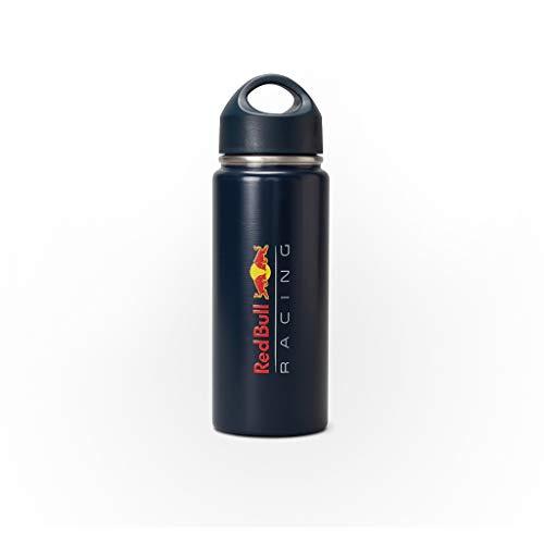 Red Bull Racing, Botella de agua de acero inoxidable, temporada 2021, azul marino, con licencia oficial