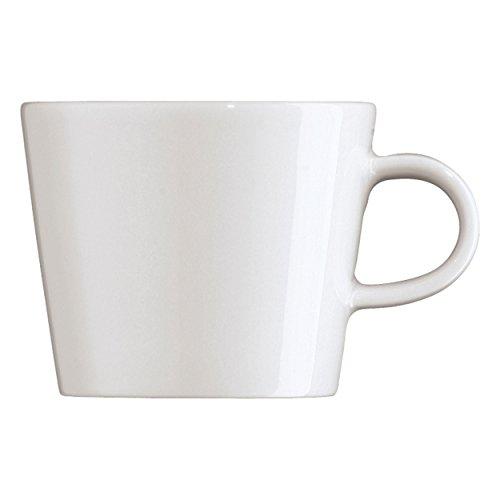 Arzberg Cucina Kaffeetasse, Obertasse, Kaffeebecher, Kaffee Tasse, Becher, Bianca, Porzellan, 220 ml, 42116-800001-14772