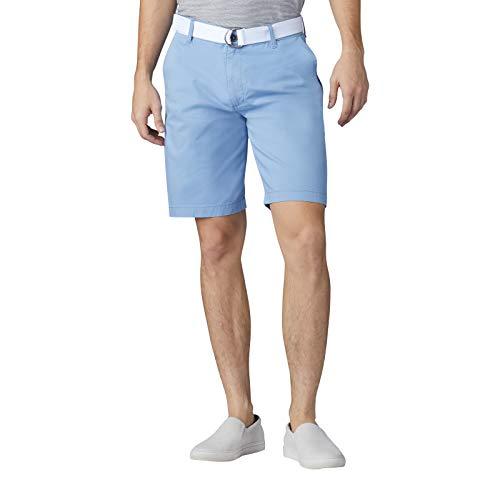 Lee Uniforms Herren Latzhose, Flache Vorderseite, kurz - Blau - 50