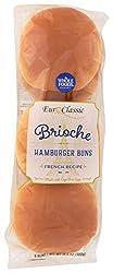 Whole Foods Market, Bun Brioche Hamburger 6 Count, 10.6 Ounce