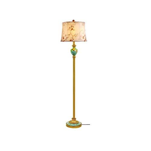 CLJ-LJ Retro Living Room Lámpara de cama creativa Vertical Luces Decorativas