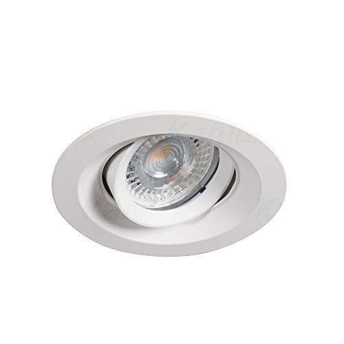 Cloy Einbaustrahler schwenkbar Einbauleuchte Einbaulampe Weiss
