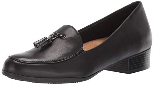 Trotters Women's Mary Loafer, Black, 8.0 M US