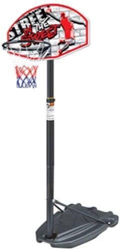 Ultrafit portátil Baloncesto Regulable Unidad con Mini Baloncesto - Altura: 140-185 cm