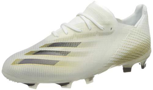 adidas X GHOSTED.1 FG J, Zapatillas de fútbol, FTWBLA/NEGBÁS/OROMEZ, 36 2/3 EU
