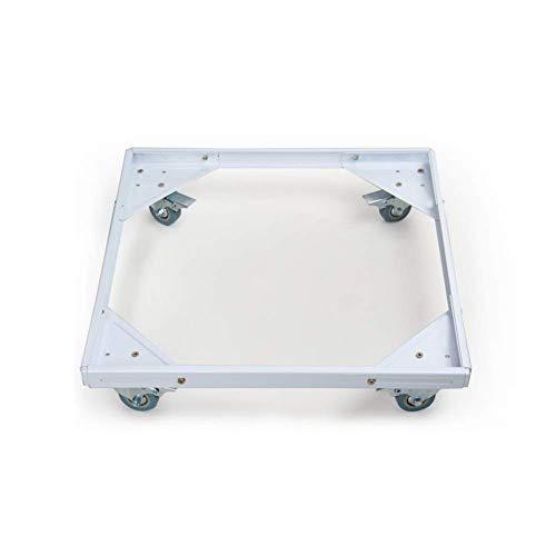 ZfgG Verstelbare Toestel Roller Trolley Met Vergrendelde Universele Wiel Basiswielen Voor Wasmachine Koelkasten Vriezer Tumble Dryers Vierkant