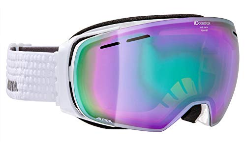 ALPINA Granby MM' Skibrille, White, One Size