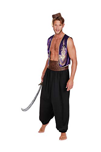 Dreamgirl Men's Arabian Prince, Multi, XX Large