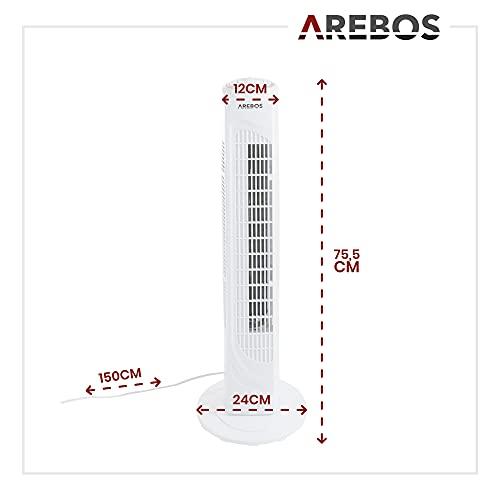 Arebos Ventiladores de torre