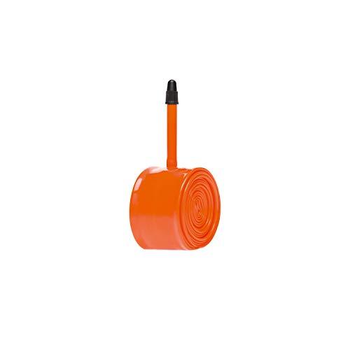 Tubolito Tubo-CX/Gravel-700C/28 - Válvula de 42 mm, cámara de Aire Unisex, Color Naranja