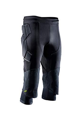 Storelli ExoShield Torwart3/4 Hose 2.0 | 3/4-Länge gepolsterte Fußballhose | Hochwertiger Hüft- und Knieschutz |