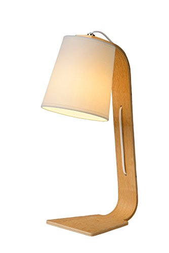Lucide Nordic tafellamp, zwart
