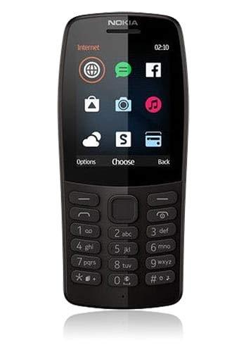 Nokia 210 Dual SIM schwarz