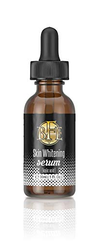 Skin Whitening serum - Visibly Fades and Reduces Skin Discoloration Associated from Dark Spots, Sun Spots, Age Spots, Acne Scars, Brown Spots, Freckles for Man & Women.