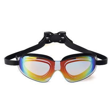 PeroFors Schwimmbrille Adult Waterproof Anti-Fog Uv Protect Schwimmtauchbrille W/Box - Schwarz