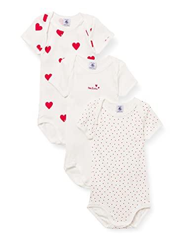 Petit Bateau Underwear Baby Mädchen Gr. 68, Mehrfarbig