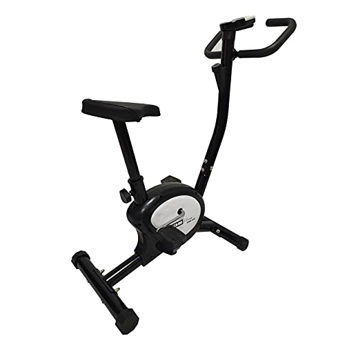 Bicicleta Estática Keboo Serie 300 Fricción Multifunción con Regulación Manual, Asiento Ajustable y Pantalla
