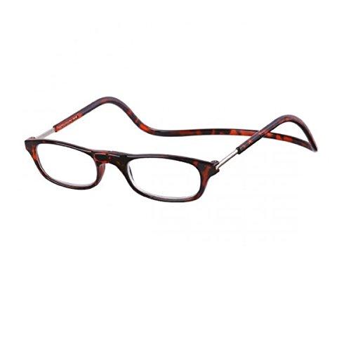 Kost Lesebrille mit Magnetverschluss für Sie & Ihn havanna Lesehilfe Fertigbrille +3,0
