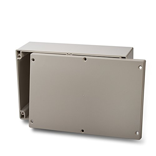 edi-tronic ABS Leergehäuse 240x160x90mm Industriegehäuse IP65 Kunststoff Gehäuse Box Kasten