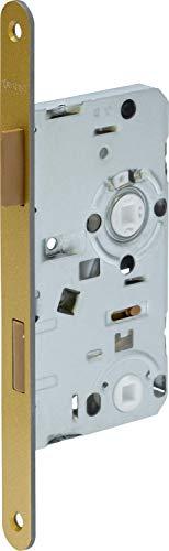 ABUS 61771 ES WC R G 55 78 2 Einsteckschloss, Gold, 20mm