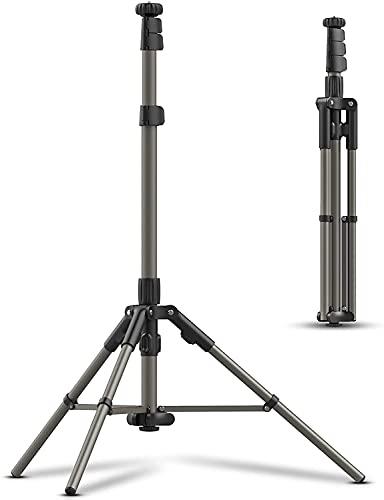 PICTRON Trípode de Viaje de Aluminio con función de rotación Horizontal de 360°, Soporte de cámara Ultraligero, Compatible con cámaras fotográficas/cámaras réflex Digitales