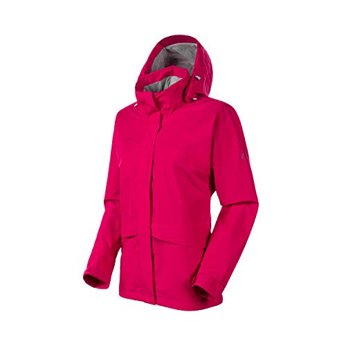 Mammut Damen Hardshell-jacke Heritage Hooded, violett, L
