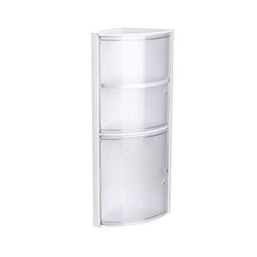 Tatay Armario plástico rinconero, Color Blanco, 2 Puertas s