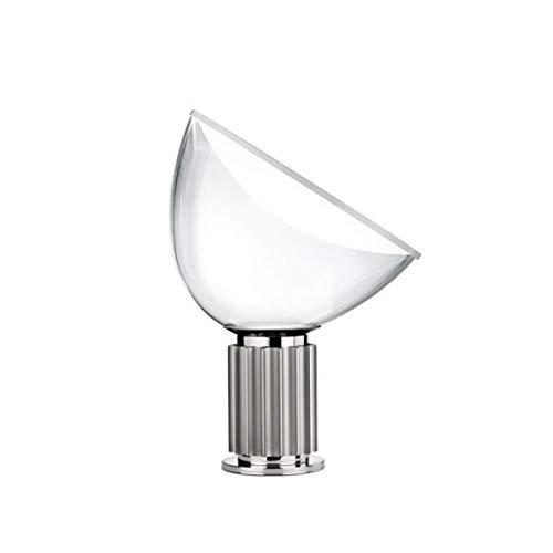 Flos Schweigen LED 28W-Terra oder Tisch schwarz Reflektor Glas F6602030Design Castiglioni Italy 1962