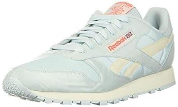Reebok Unisex Classic Leather Shoes-Men Sneaker CHABLU/CLAWHT/ORNFLR 12 US