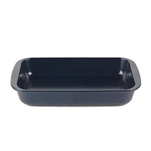 Russell Hobbs Fuente Horno RH001143EU 29 cm | 1,6 L | Tecnología de Triple Capa | Cristal Resistente al Choque térmico | Apto para microondas/lavavajillas/congelador, Negro